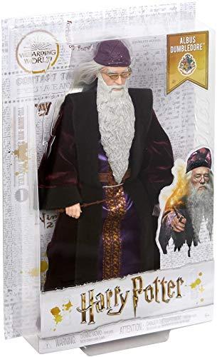 41tEQfbZegL albus dumbledore - muñeco coleccionable de la saga harry potter profesor dumbledore - figura coleccionable para verdaderos fans: su característica ropa y los detalles especiales, como la barba y la varita de sauco, hacen que este muñeco de colección tenga un aspecto idéntico a las películas Dumbledore