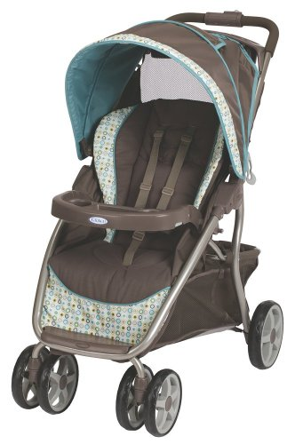 Graco Dynamo Lite Classic Connect Stroller, Oasis, Baby & Kids Zone