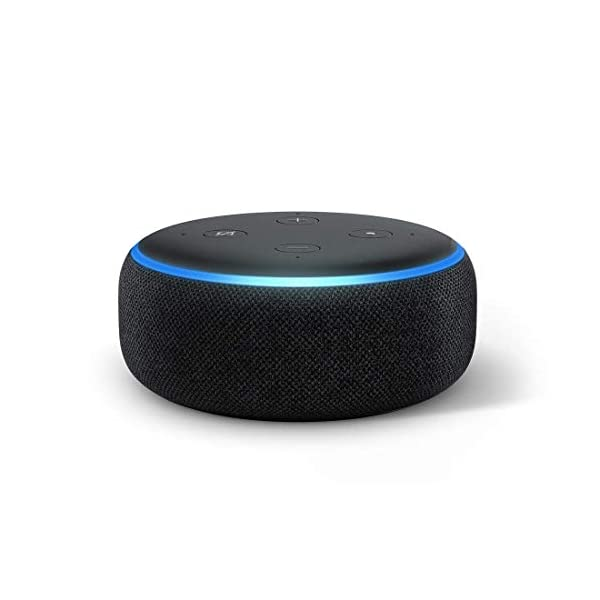 41tEQogY3qL Echo Dot (Black) bundle with Echo Flex and Wipro 9W smart bulb