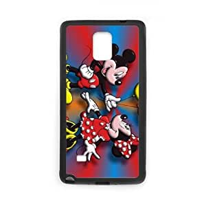 Disney Mickey Mouse Minnie Mouse Samsung Galaxy Note 4 Cell Phone Case Black 05Go-196893