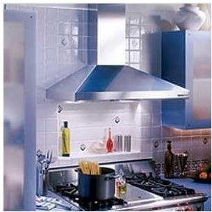 Broan 619004 Elite Rangemaster Chimney Hood with Internal Blower, 35-7/16-Inch 450 CFM, Stainless Steel from Broan
