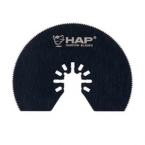 Harpow HSS half moon circular power oscillating tool bladesmultitool bladespower tool saw bladesfits Fein Bosch Craftsman Rockwell Einhell Westfalia Ferm Pro-Line Matrix tools