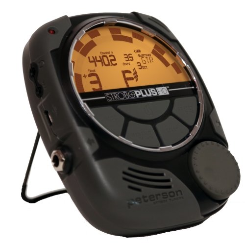 Peterson 403867 SP-1 StroboPlus HD Handheld Strobe Tuner with Optional Metronome Function