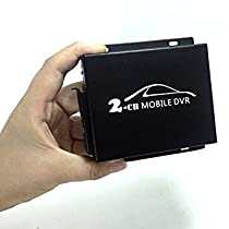 2ch Mini Mobile DVR , SD Video Recorder for Truck Car Taxi Bus, 2 Channel Mini Vehicle DVR with Remote Control Motion Detection by Pomiacam