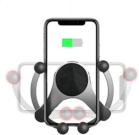無線車の充電器、10Wチー高速カーマウントを充電、iPhone 11との互換性/ 11Pro / 11Pro最大/のXマックス/XS/XR/X / 8/8 + /サムスンS10 / S10 + / S9 / S9 + / S8 / S8 +
