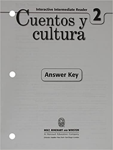 Amazon exprsate cuentos y cultura interactive reader exprsate cuentos y cultura interactive reader with answer key level 2 1st edition fandeluxe