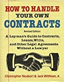 How to Handle Your Own Contracts, Outlet Book Company Staff, 0517378728