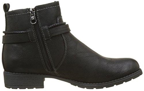 Tailor black 3797304 Noir Bottes Tom Motardes Femme 7wcTWq8Td6