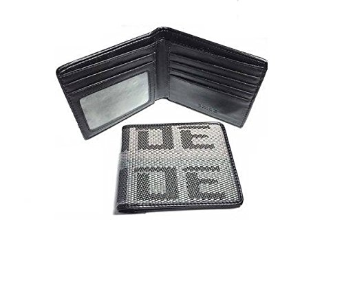 (JDM BRIDE Seat Gradation Logo Wallet Custom Stitched Leather Racing Super Cool Grey-Brown)