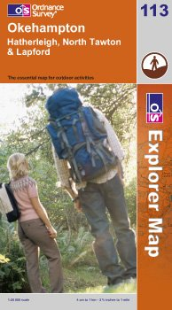 Explorer Map 113: Okehampton
