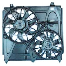 TYC 621040 Kia Sorento Replacement Radiator/Condenser Cooling Fan Assembly