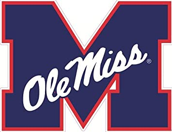 I AM A REBEL Ole Miss University of Mississippi Quilting Fabric Block