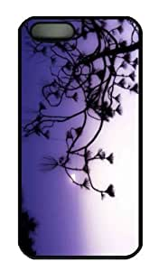 Case For Sam Sung Galaxy S4 I9500 Cover - Customized Unique Design Tree Branch Silhouette At Dusk N...