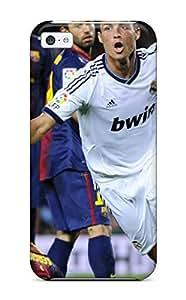 Cute Appearance Cover/ TGcWwbS2986jrjdI Cristiano Ronaldo Real Madrid Case For Iphone 5c
