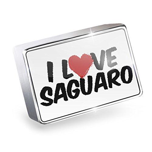 Floating Charm I Love Saguaro Fits Glass Lockets, (Saguaro Glass)