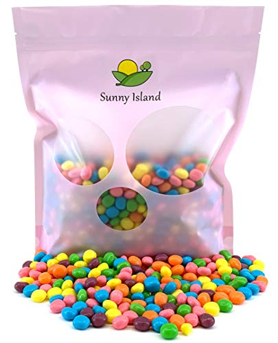 (Sunny Island Bulk - SweeTarts Jelly Beans Candy Treats, Naturally Flavored Bulk Pack, 2 Pounds Bag)