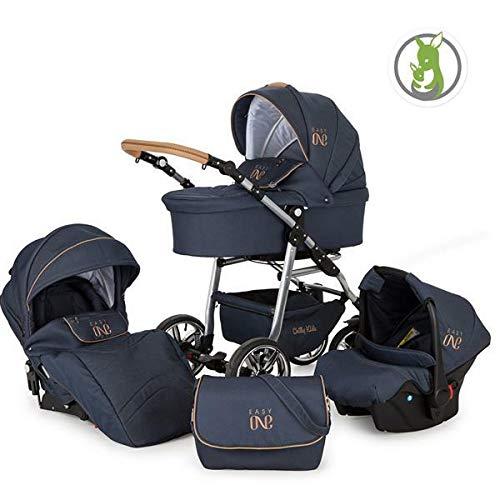 OZLXKNC Baby Kinderwagen mit Autositz 3 in 1 mit Rucksack Winter