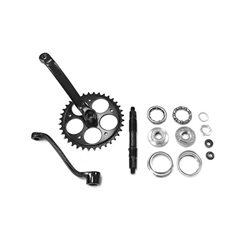 Wide Pedal Crank Kit - 2pc 80CC Gas Motorized Bicycle by KingsMotorBikes