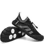 Staright Men Women Water Shoes Quick-Dry Barefoot Aqua Socks Slip On Sport Shoes for Swim Surf River Hiking Beach