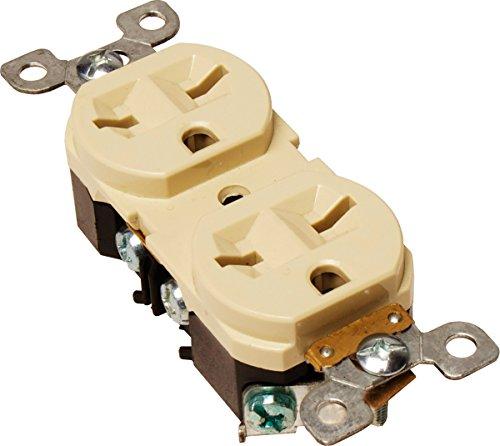 Output Receptacles (Hydrofarm 15-Amp Duplex Receptacle,)