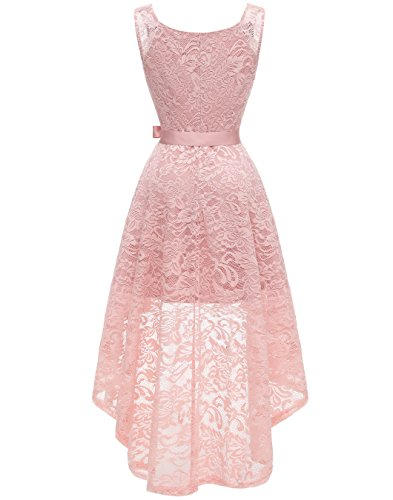 BeryLove-Womens-Floral-Lace-Hi-Lo-Bridesmaid-Dress-V-Neck-Cocktail-Formal-Swing-Dress