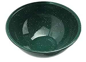 GSI Enamelware Forest Green Mixing Bowl