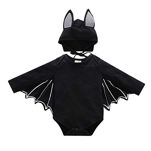 Newborn Infant Little Bat Halloween Baby Costume Unisex