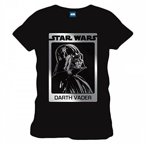 Star Wars Vader Card - T-Shirt Original | 100% Baumwolle | Schwarz