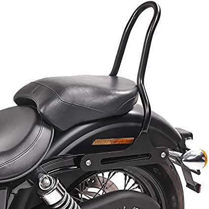 Sissybar Compatible With Harley Dyna Street Bob 09 17 Craftride Tampa S Black Auto