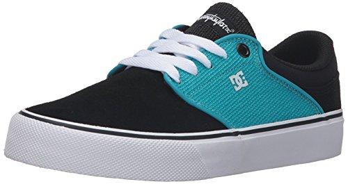 DC Mens Mikey Taylor Vulc Mikey Taylor Signature Skate Shoe, Black/Ocean/White, 40 D(M) EU/6.5 D(M) UK