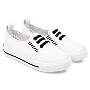 Labixiaoxing Flat Shoe for Boys - 24 EU, White