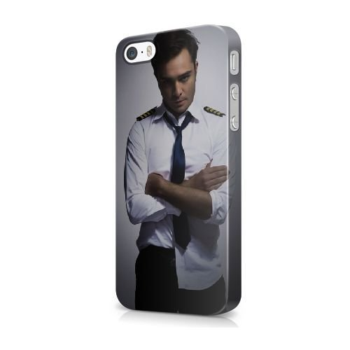 iPhone 5/5S/SE Cover, Bretfly Nelson® CHUCK BASS Serie Plastica dura Snap-On Case Pelle Cover Per iPhone 5/5S/SE GDGFJLO566860