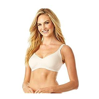 Warner's Women's Easy Does It No Bulge Wire-Free Bra, Butterscotch, XL