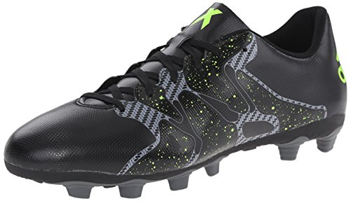 Adidas Performance Mens X 15,4 Voetbalschoen Kern Zwart / Solar Geel / Nacht Metallic F13