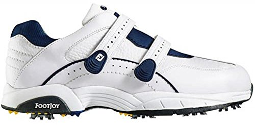 FootJoy Specialty Athletic Velcro Golf Shoes 56733 White - 9.5 (Velcro Golf Shoes)