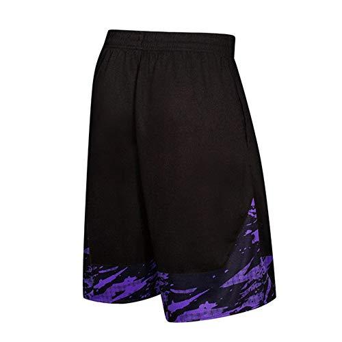 De Plage Homme Trunks Respirant Uribaky Running Violet Fitness Pour Survêtement Pantalon Short Ample Sport FxqwS1A