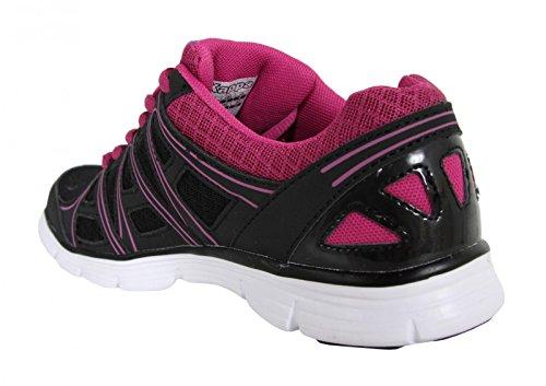 Chaussures de sport pour Homme et Femme KAPPA 302X9B0 ULAKER C32 BLACK-FUSHIA