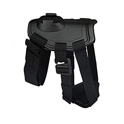 Walway Dog Harness Chest Strap Belt Mount for GoPro Hero 6/5/5 Session/ 4 Session/ 4/3+/ 3/2/1, SJCAM SJ4000 SJ5000 Action Camera, with J-Hook and Release Buckle by Walway