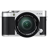 Fujifilm X-A3 Mirrorless Camera XC16-50mm F3.5-5.6 II Lens Kit - Silver