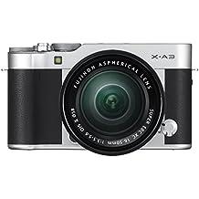 Fujifilm X-A3 Mirrorless Camera XC16-50mm F3.5-5.6 II Lens Kit - Silver