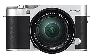 Fujifilm X-A3 Mirrorless Camera XC16-50mm F3.5-5.6 II Lens Kit-Silver (B01KNXATL8) | Amazon price tracker / tracking, Amazon price history charts, Amazon price watches, Amazon price drop alerts