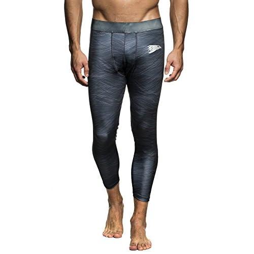 b632158e02b LEIF NELSON GYM Pour des hommes Fitness pantalon Leggings Pantalon  d entraînement Pantalon de fitness