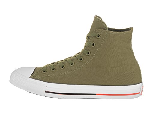 Converse - Adult Chuck Taylor All Star Schuhe Fatigue Green/White/Signal Red