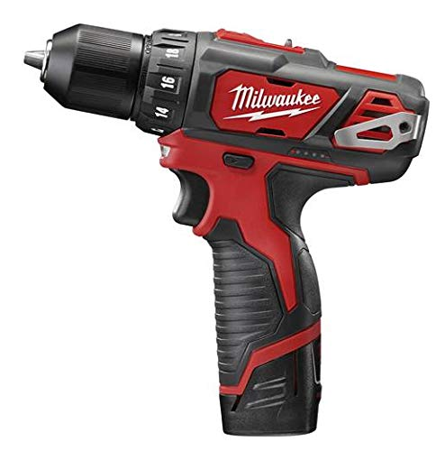 New Milwaukee 2407-22 M12 3 8 12 Volt Cordless Drill Drill Kit With Case