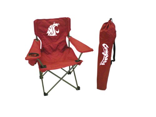 Rivalry NCAA Washington State Cougars Youth Folding Chair With Carrying Case ()