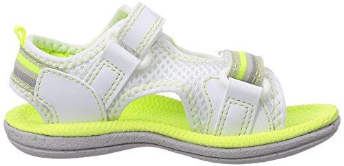 Clarks Star Games Fst - Zapatos primeros pasos de material sintético para niña blanco - Weiß (White Synthetic)