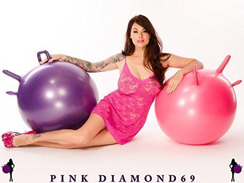 Pink Diamond Double Magic Ball Purple