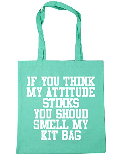 You My Think Stinks Beach litres You Should Smell 42cm Attitude If Kit Tote Shopping HippoWarehouse Gym 10 Mint Bag x38cm Bag My nYxfwz