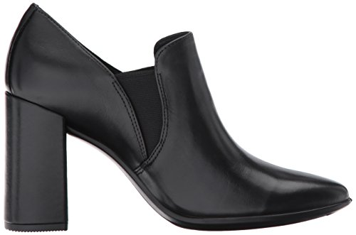 75 Block Negro Pointy Black Mocasines para Ecco Mujer Shape wSBqx1C