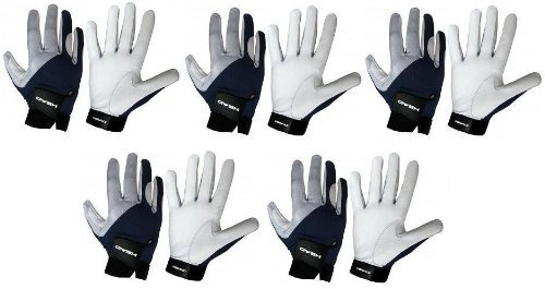 Five (5) HEAD Renegade Racquetball Gloves (Large, Right)